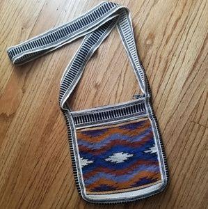 Boho tribal print purse
